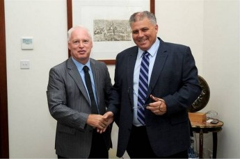Irish Ambassador Jim Hennesy pays courtesy visit to Gozo Minister