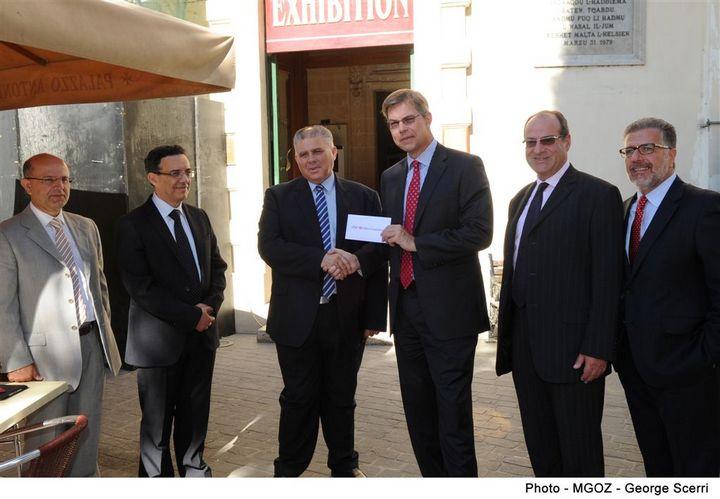 HSBC Malta Foundation sponsors Banca Giuratale restoration works