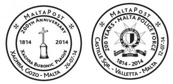 MaltaPost special hand postmarks and early collection notification