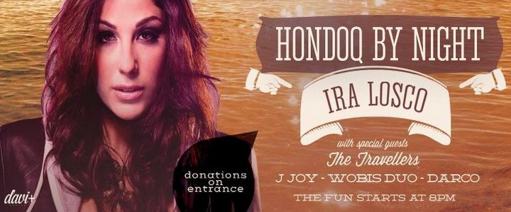 Hondoq by Night: Ira Losco and band live in concert this Friday