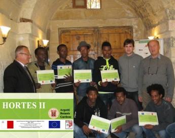 Argotti Botanic Gardens host training for refugees & asylum seekers