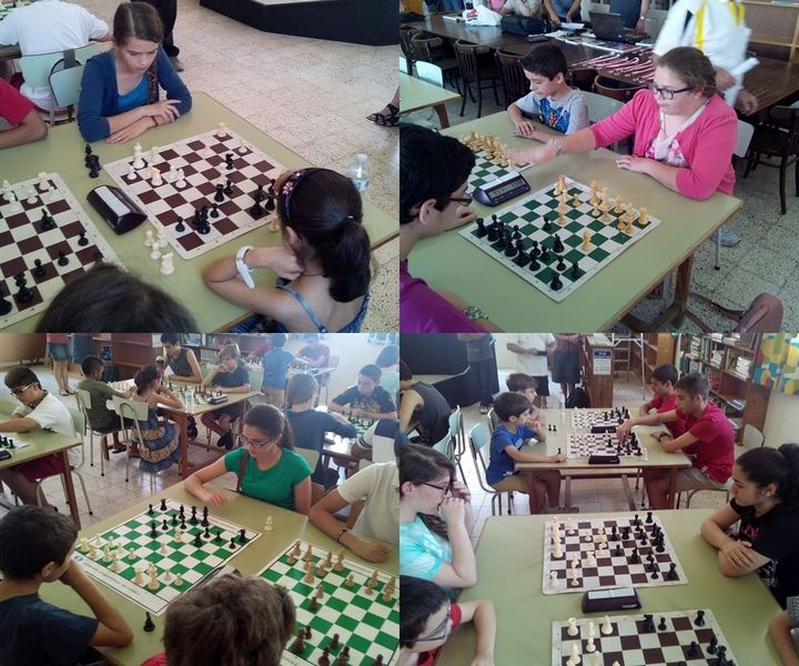 Girls from Bishop's Conservatory Secondary enter Chess tournament