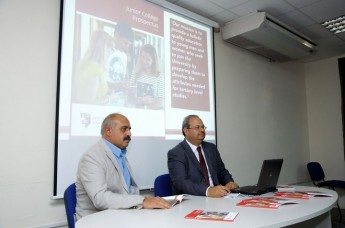 Junior College Malta launches its October 2014 Prospectus