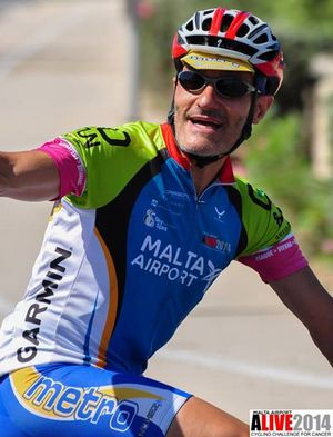 Louis Debattista's charity cycle challenge for Gozo CCU Foundation