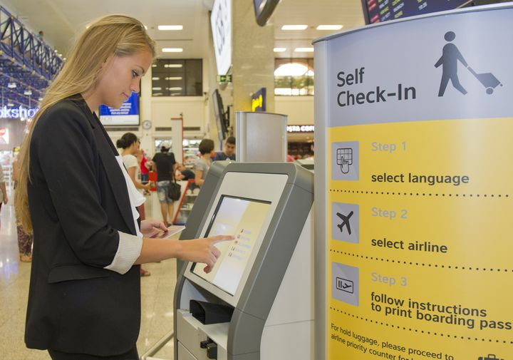 Malta International Airport introduces self-service check-in kiosks