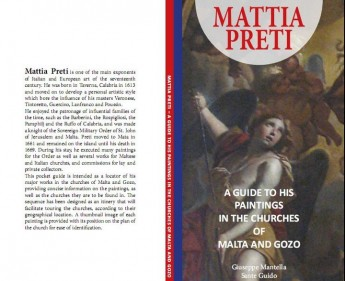 Pocket sized guide to paintings by Mattia Preti launched by DLH