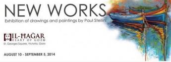 'New Works' - Exhibition by Paul Stellini at Heart of Gozo museum