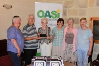 OASI Foundation's Riflessi Sajfin in Marsalforn & a donation of clocks