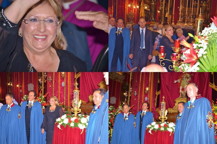 President of Malta attends St George's Basilica Feast celebrations