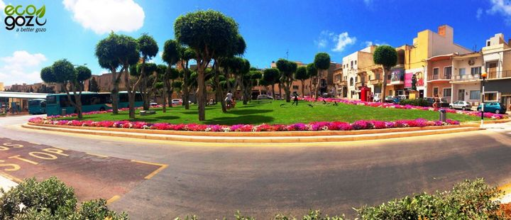 New garden now open to the public at the Victoria Bus Terminus, Gozo