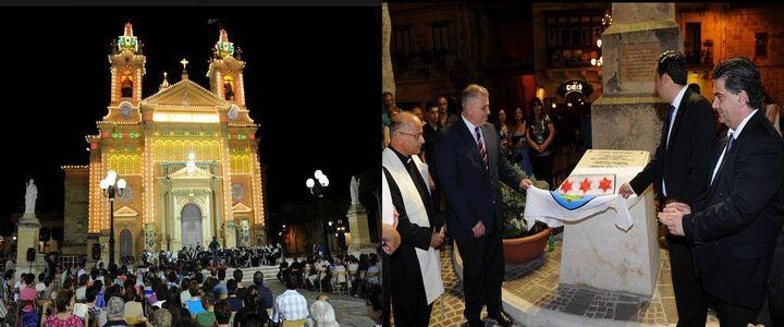 Newly refurbished Pjazza San Guzepp inaugurated in Qala