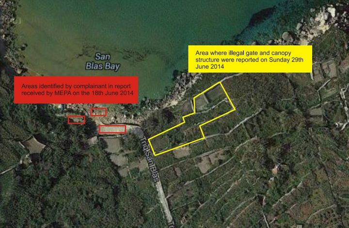 Complaint on illegal works at San Blas was investigated - MEPA