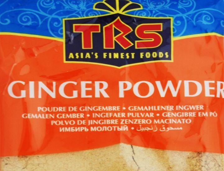 Environmental Health warning on TRS Foods Ginger Powder
