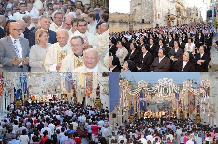 Thanksgiving Mass for the Venerable Madre Margherita held in Kercem