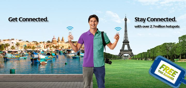 Free Wi-Fi for Melita customers with 3 million hotspots worldwide