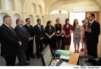 Gozo e-Residence Unit officially inaugurated in Victoria