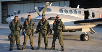 All Gozitan crew protecting Maltese interest from the air