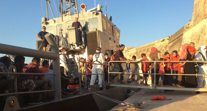257 rescued migrants brought to Malta late this afternoon