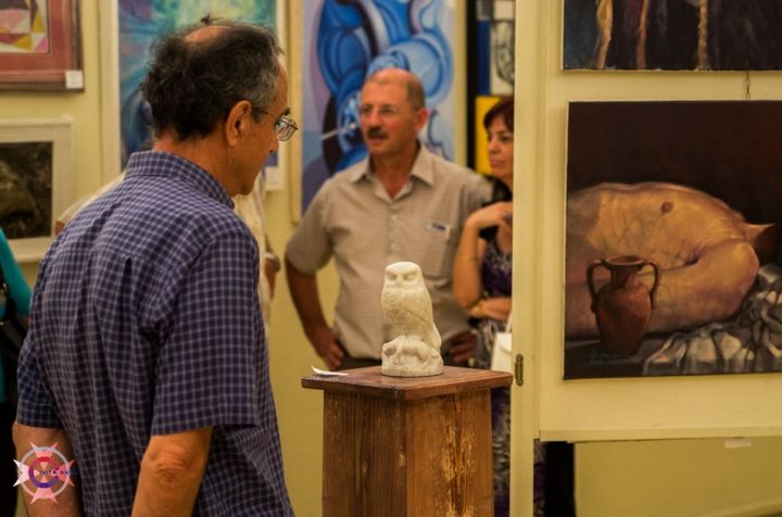 Art Club 2000 annual collective exhibition at the Ministry for Gozo