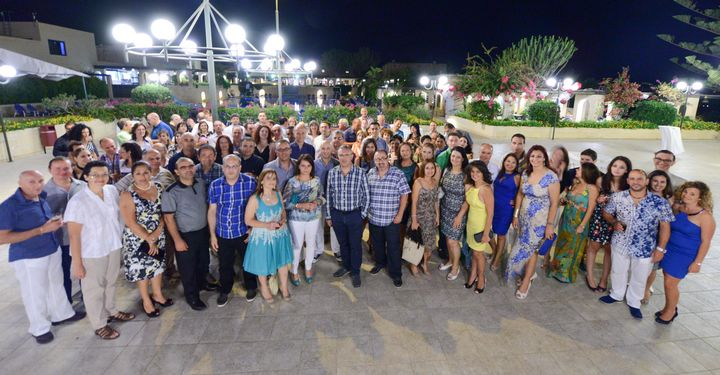 BOV employees celebrate a total of 3925 Years of service