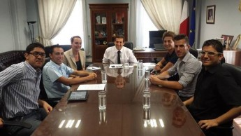 Gozo Youth Council discusses proposals & concerns with Chris Agius