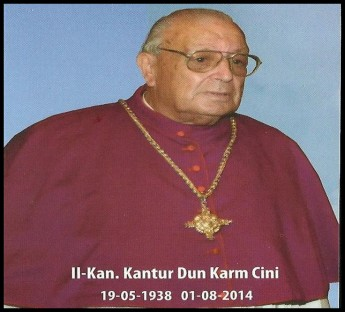 Remembering the life of Dun Karm Cini - Fr Geoffrey G Attard