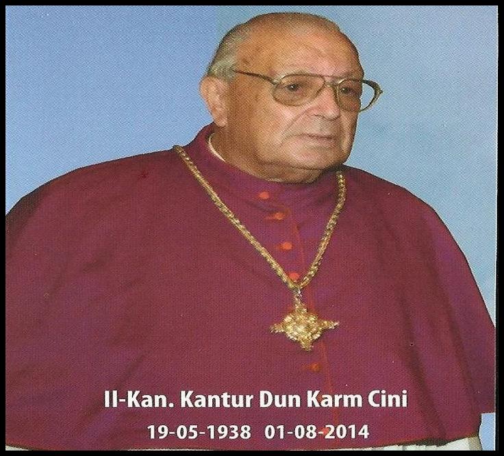 Remembering the life of Dun Karm Cini - Fr Geoffrey G Attard