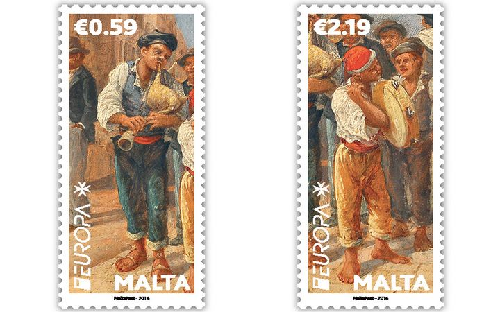 Vote for the Malta stamp in the EUROPA online competition