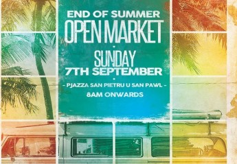 Special 'End of Summer Open Market' taking place in Nadur