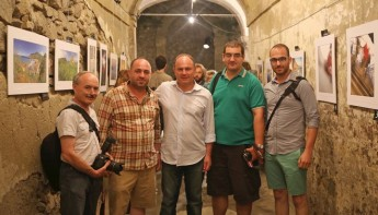 Exhibition by four Gozitan photographers during TolfArte 2014