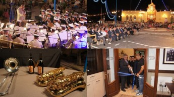 Ghajnsielem's Annual Feast Concert & new Bistro Cafe inauguration