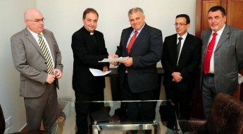 Ghajnsielem receives grant for restoration of church parvis & square