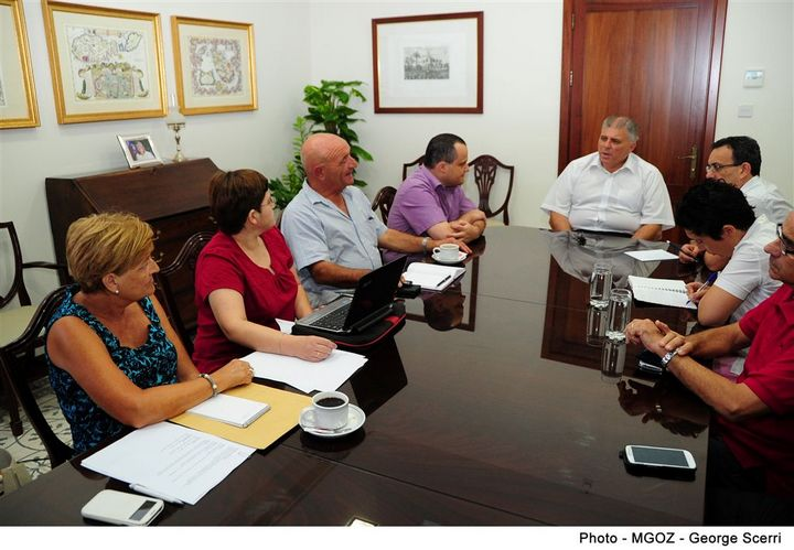 Gozo Minister meets with The Gozo Federation for Persons with Disabilities
