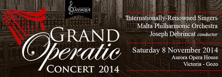 Classique Foundation's Grand Operatic Concert 2014 at the Aurora
