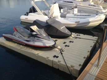 Mgarr Marina in Gozo is the first to have jet ski floating docks