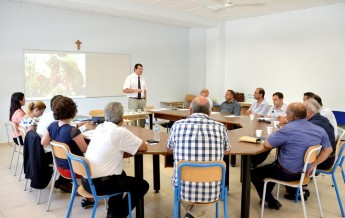 Dr Justyne Caruana discusses the elderly population with Gozo Mayors