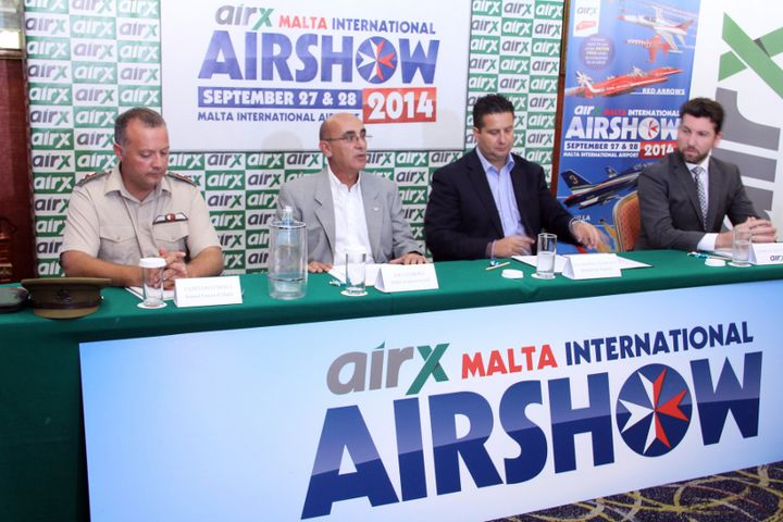 airX Malta International Airshow set to be the largest edition to date