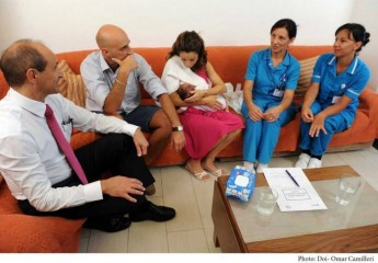 1,400 mothers benefited so far from the new post-natal service