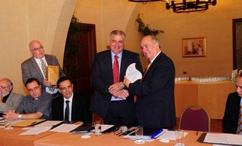 Fixed IP satellite data link technology system to Gozo installed by PBS