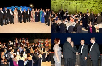 Ggantija Temples hosts the first President's Ball to be held in Gozo