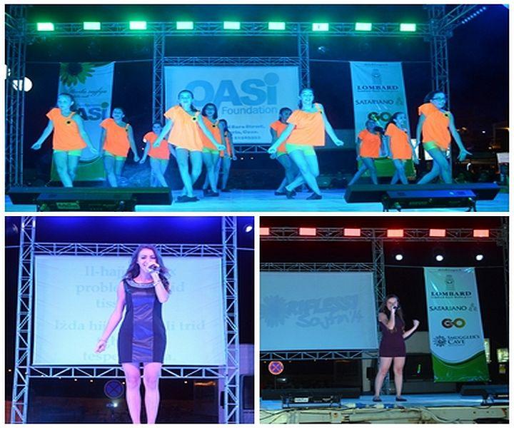 Riflessi Sajfin 2014: Singers & dancers entertain crowds in Marsalforn