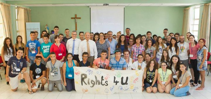 Rights 4U Course for young people held at Manresa House, Gozo