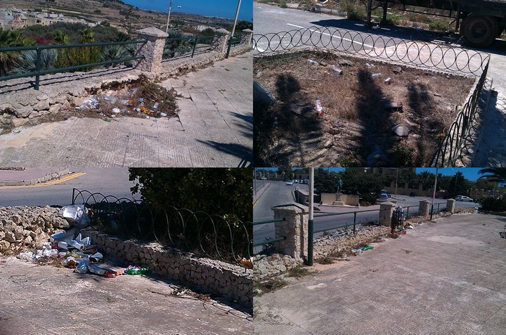 2 months after last Gozo clean-up hike & things are back to the same