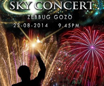 Sky Concert: A spectacular fireworks display to music at Zebbug, Gozo