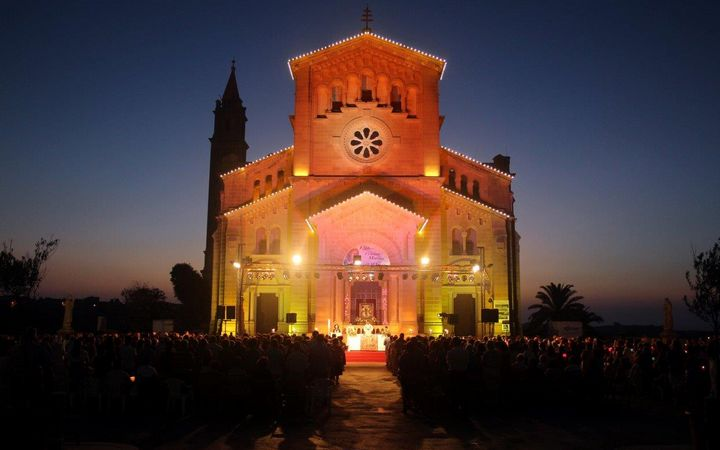 Hundreds attend evening Vigil at Ta' Pinu led by Bishop Mario Grech
