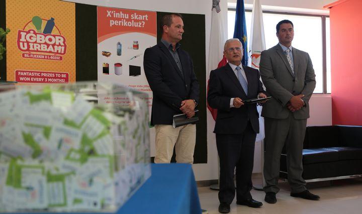Lottery campaign to raise awareness on hazardous waste