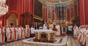 Gozo Diocese commemorates 150th anniversary with Concelebrated Mass