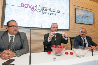 BOV GFA cup fixtures drawn for the 2015-2015 season