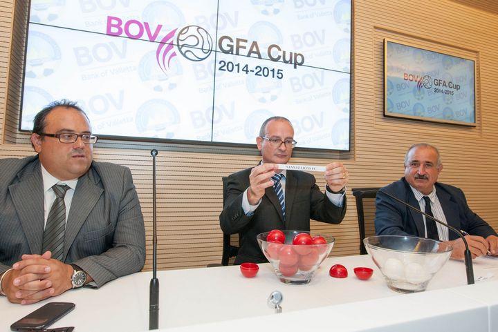 BOV GFA cup fixtures drawn for th 2015-2015 season
