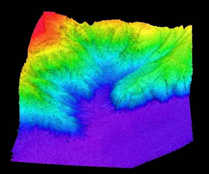Scientists map underwater cliff during oceanographic expedition